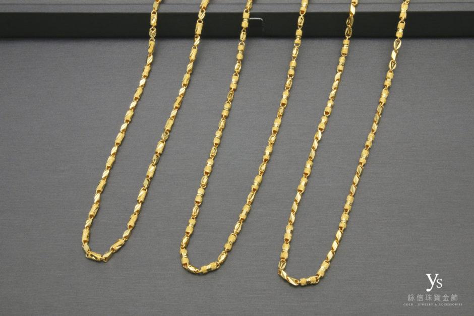 男生黃金項鍊