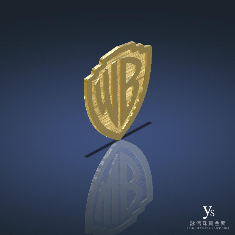 客製化金幣訂做-3D擬真效果圖