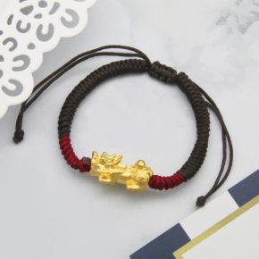 新款到貨-黃金手珠、黃金貔貅手珠、黃金手繩