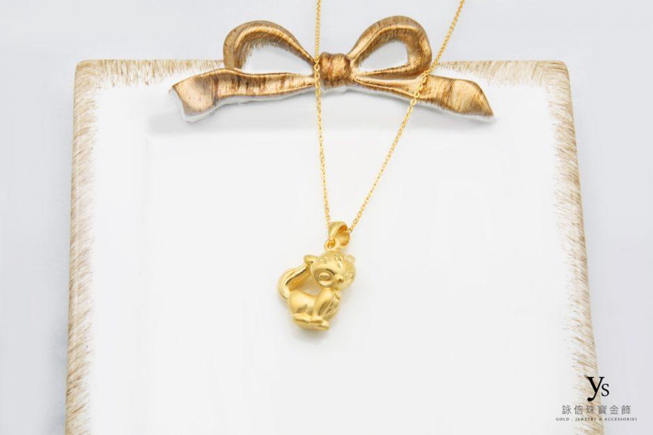 黃金項鏈-狐仙黃金項鍊