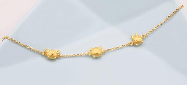 新款到貨-女生黃金手環、女生黃金手鍊推薦
