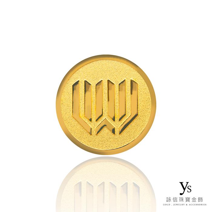 客製化金幣訂做-圓形黃金金幣訂做