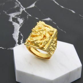 精選男生黃金戒指推薦