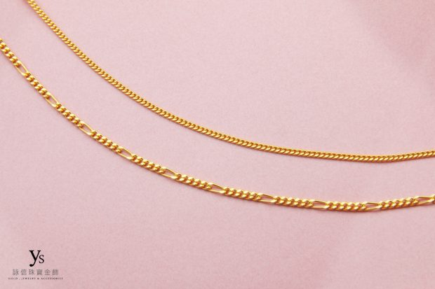 女生黃金項鍊-古巴鍊、單鱔黃金項鍊