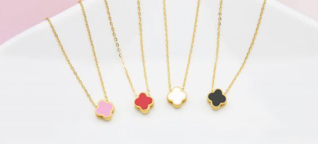 新品到貨-女生黃金墜子、女生黃金項鍊推薦