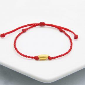 精選女生黃金手繩、黃金蠶絲蠟線手繩、黃金手鍊推薦