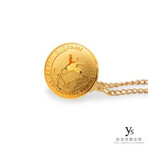 客製化金飾-黃金徽章訂做