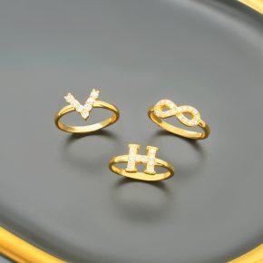精選女生黃金戒指推薦