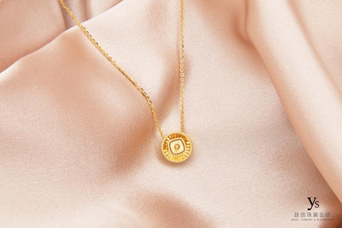 女生黃金項鏈-黃金項鍊