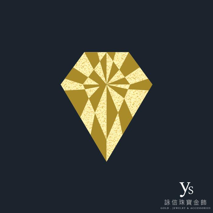 客製化金飾-黃金徽章訂做3D擬真圖