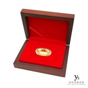 福字黃金金元寶禮盒