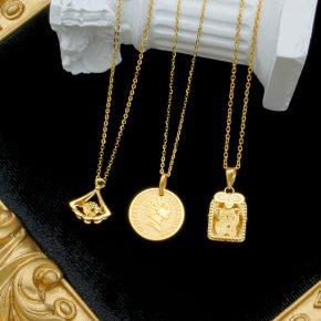 精選女生黃金墜子、女生黃金項鍊推薦