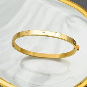 黃金手環-CNC工藝黃金手環