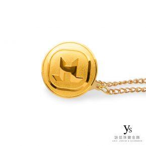 客製化金飾-公司紀念黃金胸章訂做