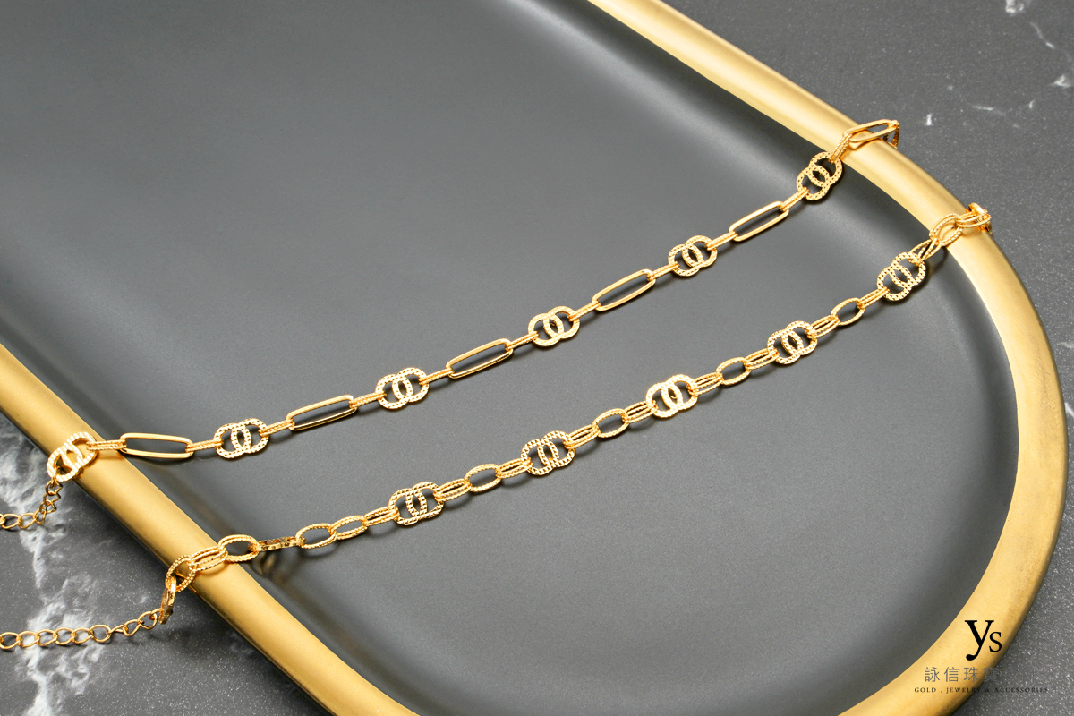 黃金手鏈-女生黃金手鍊