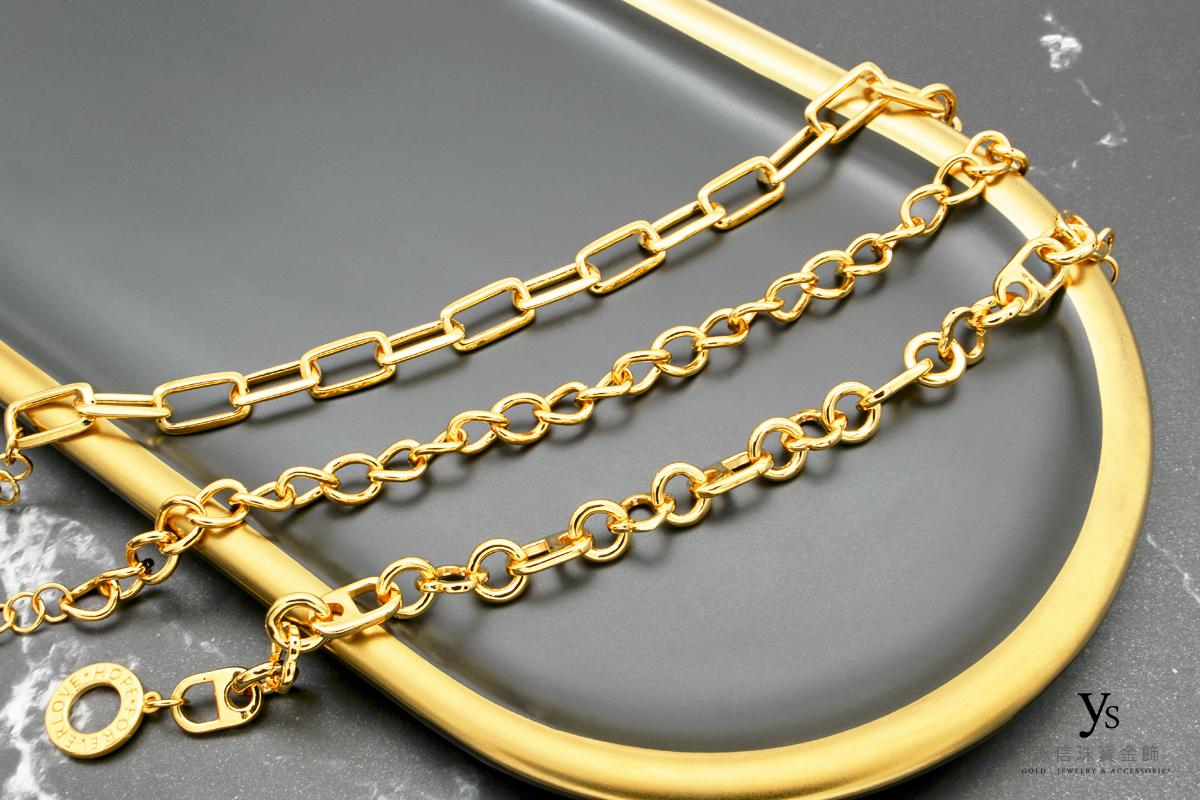 黃金手鏈-歐美風格女生黃金手鍊