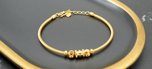 精選女生黃金手環、女生黃金手鍊推薦