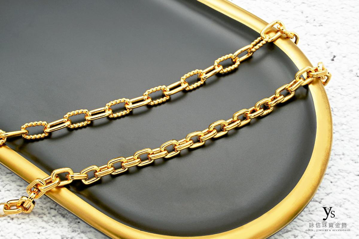黃金手鏈-歐美風格女生黃金手鏈