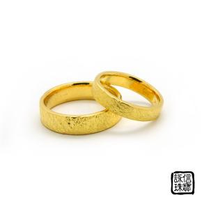 手工金飾-手工黃金戒