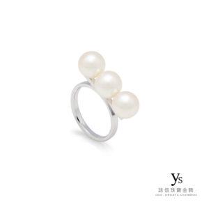 珠寶訂製-日本珠戒指