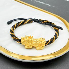 精選黃金手珠、黃金貔貅手珠、黃金手繩