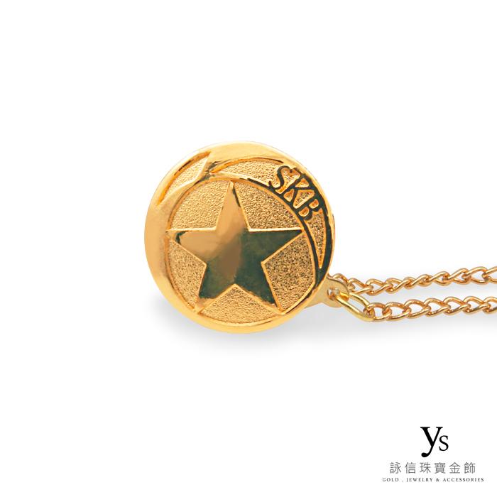 客製化金飾-黃金胸針訂做
